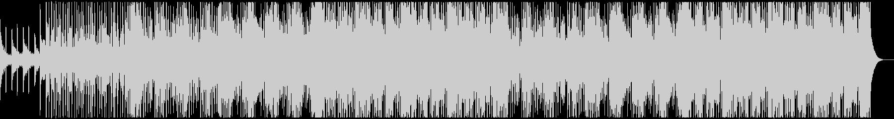 明るくリズミカルなガールズK-POPの未再生の波形