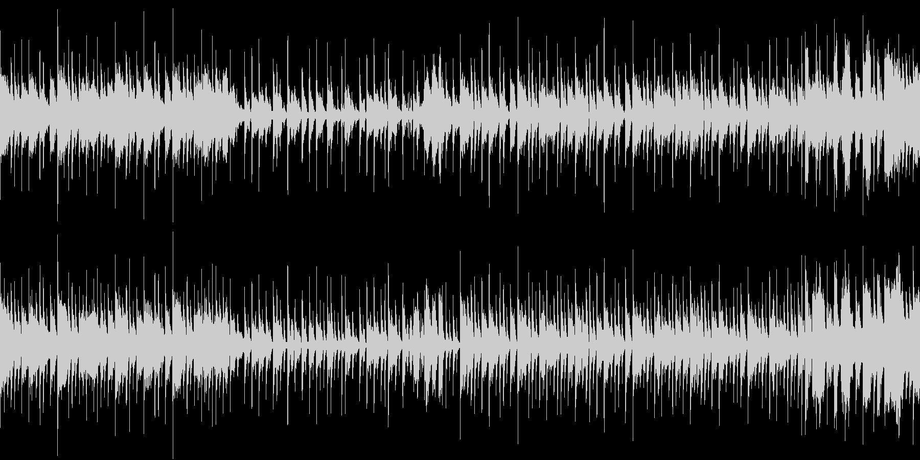 ブラスセクション+スラップベースの未再生の波形