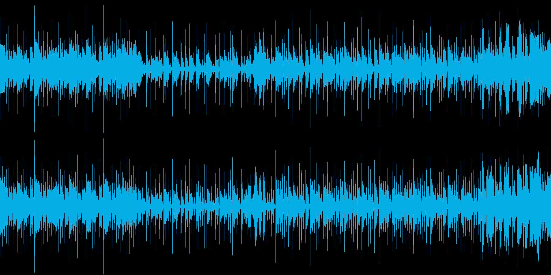 ブラスセクション+スラップベースの再生済みの波形