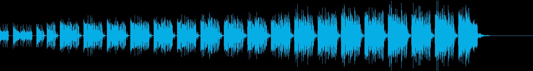 南国 ラテン調の陽気でコミカルなBGMの再生済みの波形
