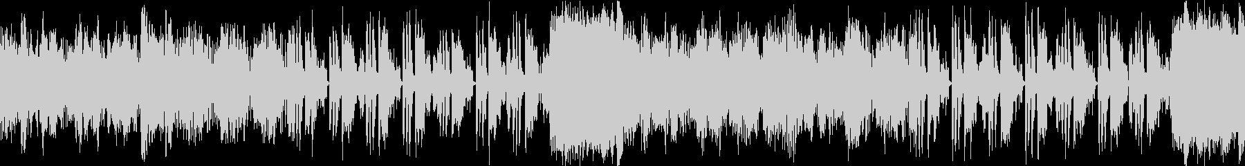 【ループ】アコーディオンの可愛いBGMの未再生の波形
