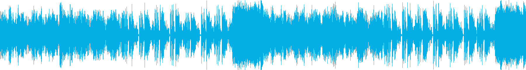 【ループ】アコーディオンの可愛いBGMの再生済みの波形