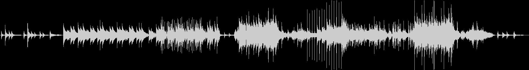 お洒落なピアノフレーズが特徴の未再生の波形