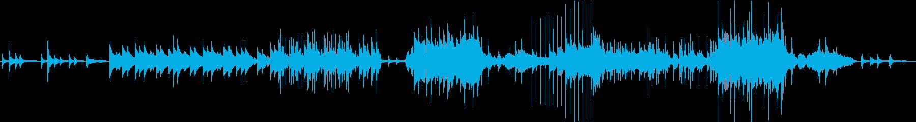お洒落なピアノフレーズが特徴の再生済みの波形