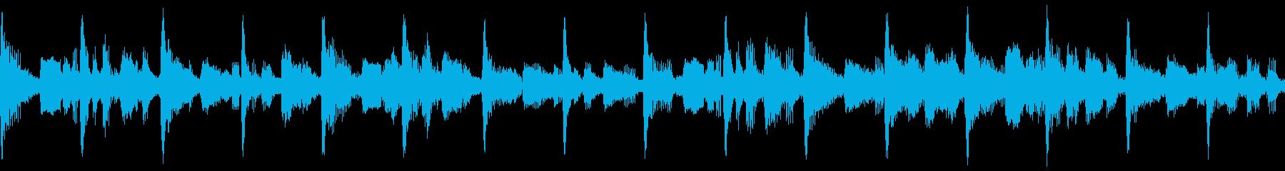 弦楽、ピアノ、ベル、チャイム、ベー...の再生済みの波形