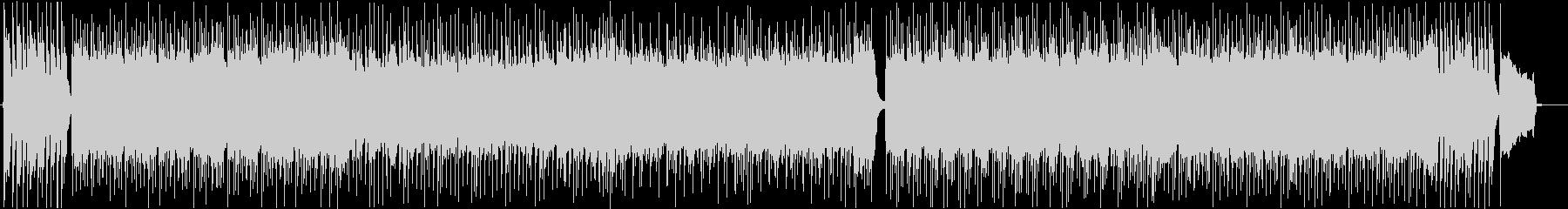 オープニング・和風ロックバトルBGMの未再生の波形