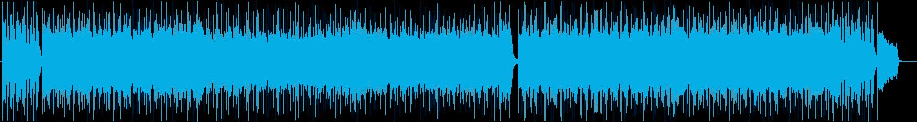 オープニング・和風ロックバトルBGMの再生済みの波形