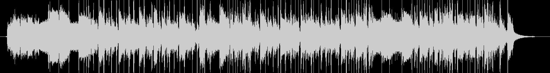 シンセ&スラップベースのジングルの未再生の波形