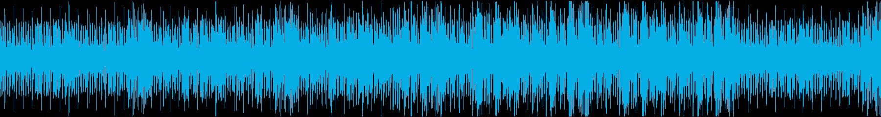 CM・テレビに 明るくワクワクする曲の再生済みの波形