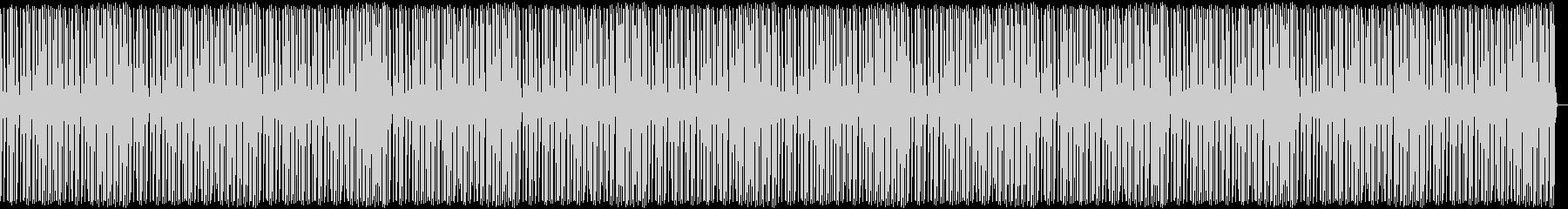 ポンポンポンビートの未再生の波形