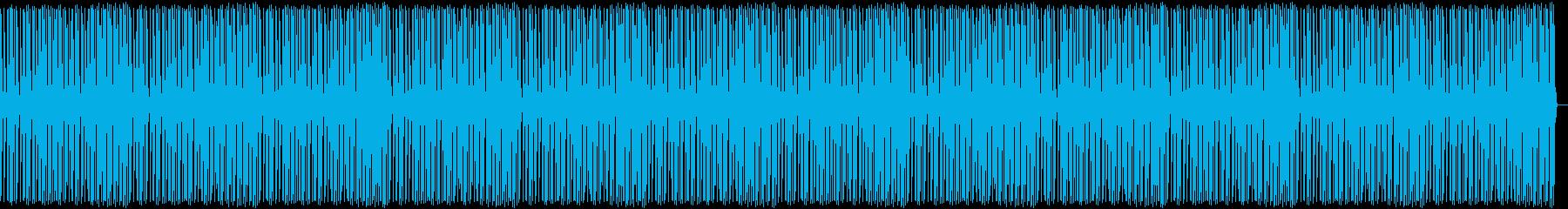 ポンポンポンビートの再生済みの波形