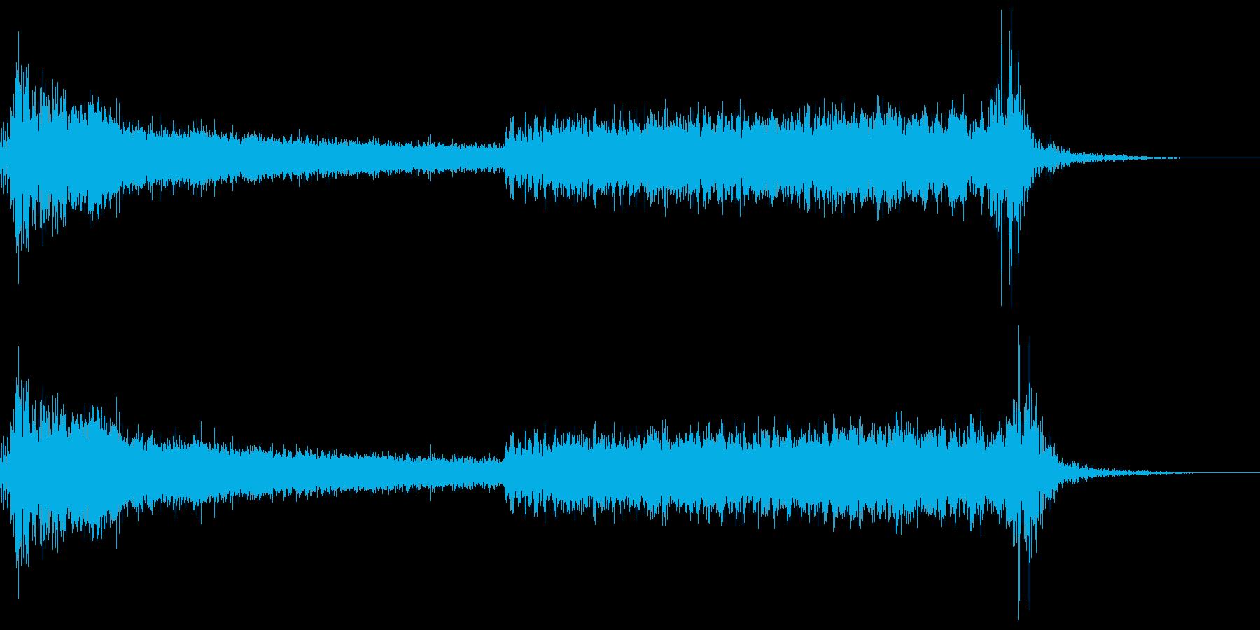 スペースシップドア:スペースドア、...の再生済みの波形