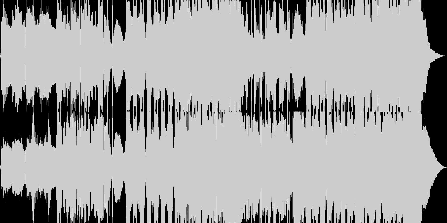 スローロックの未再生の波形