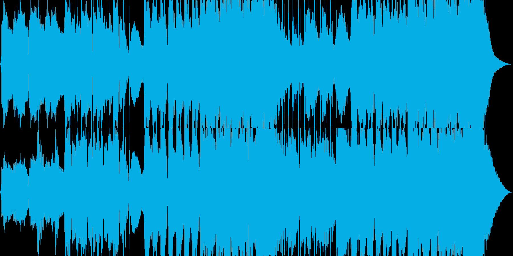 スローロックの再生済みの波形