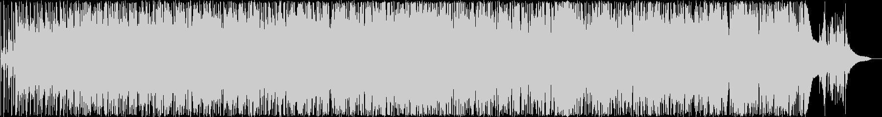 活気あるカントリーミュージックの未再生の波形