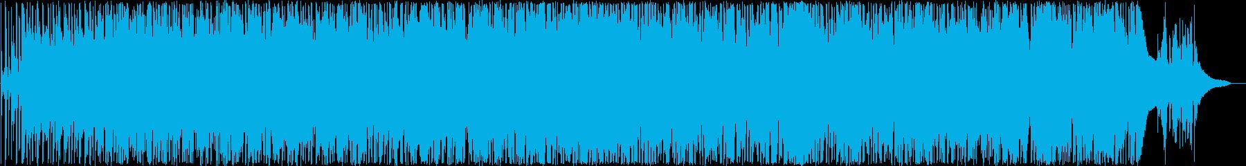 活気あるカントリーミュージックの再生済みの波形