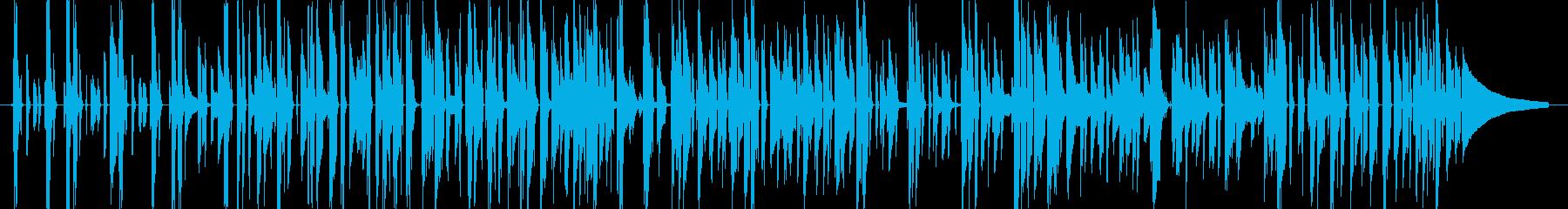 かっちりタイトに決めるベース&ピアノの再生済みの波形