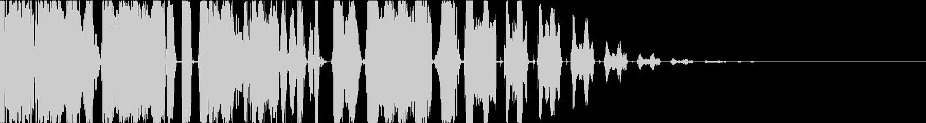 DJスクラッチボーカルチョップジングルbの未再生の波形