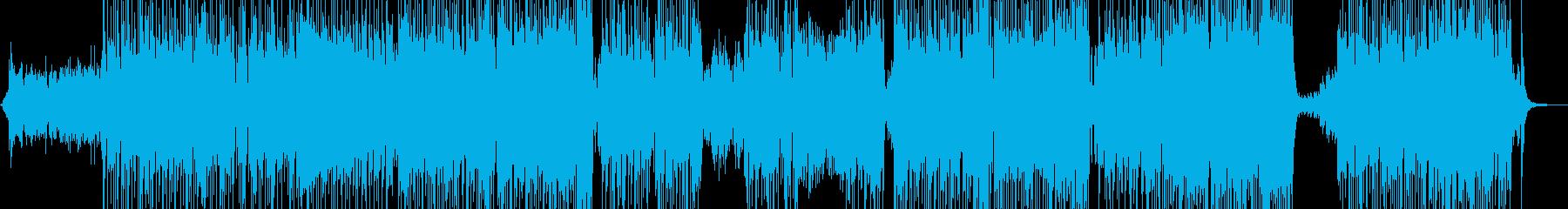 胸キュン映像にマッチすポップスの再生済みの波形