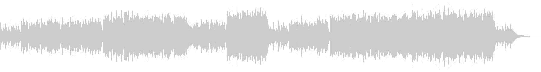 CMや映像に 透明感あるピアノとフルートの未再生の波形