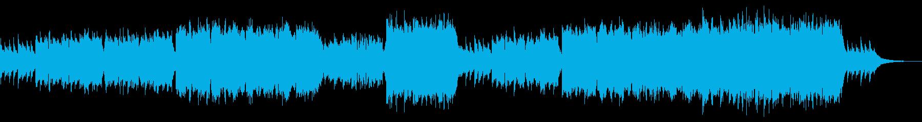 CMや映像に 透明感あるピアノとフルートの再生済みの波形