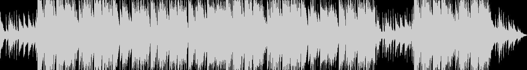 切ない哀愁系のピアノトラップビートの未再生の波形