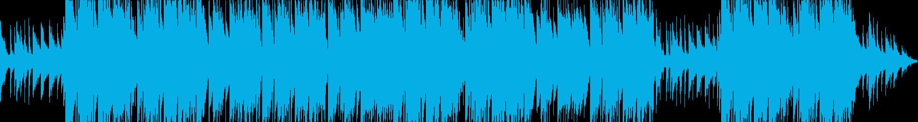 切ない哀愁系のピアノトラップビートの再生済みの波形