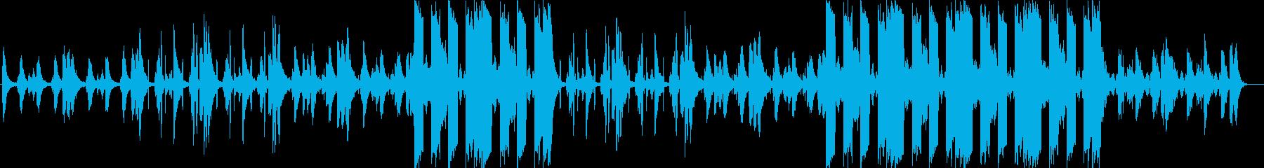 洋楽 チルアウト R&B  ムーディーの再生済みの波形