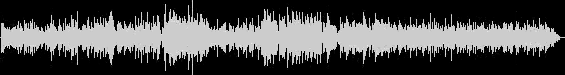 エレクトリックでジャッジーなバラードの未再生の波形