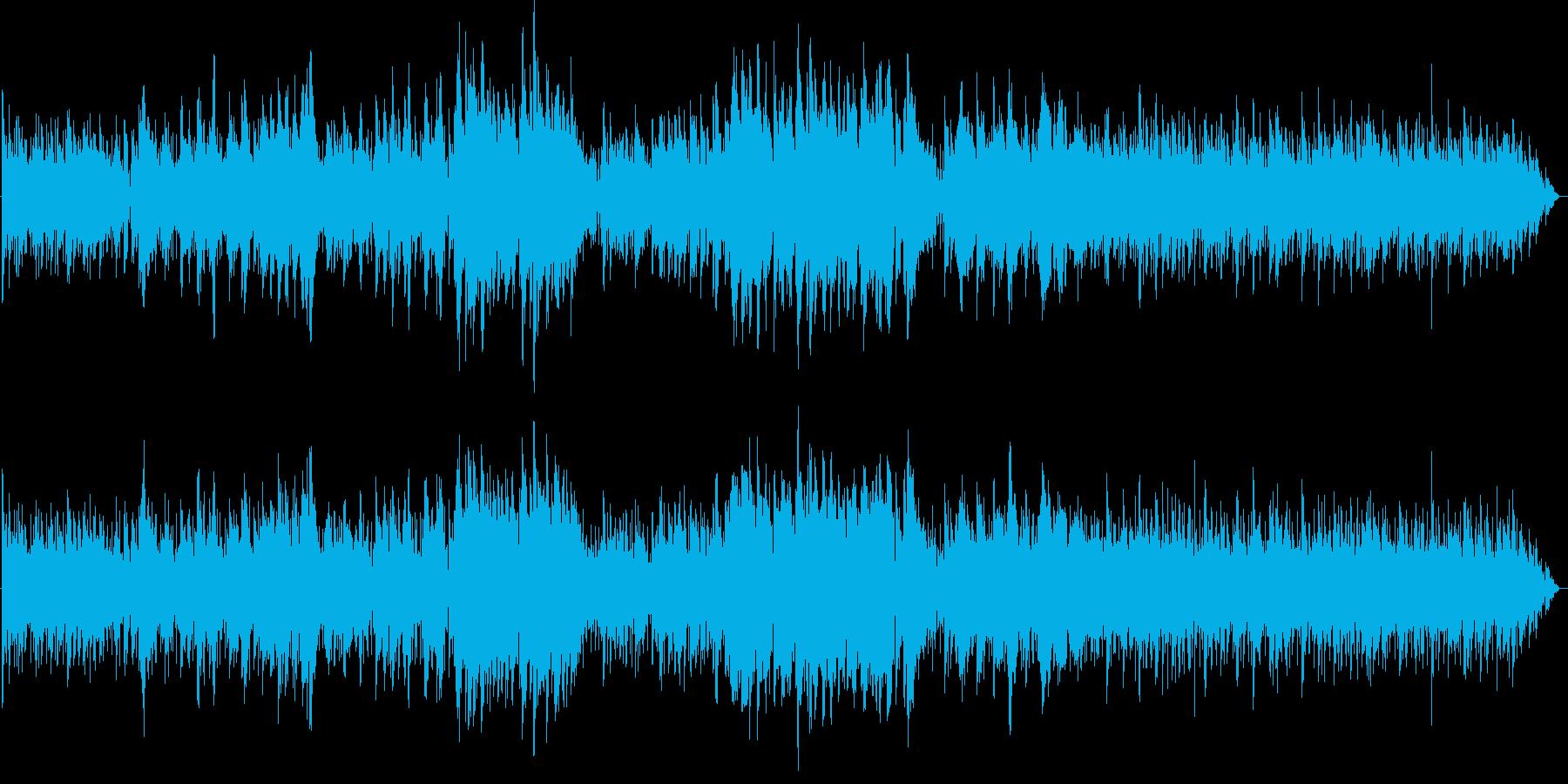 エレクトリックでジャッジーなバラードの再生済みの波形