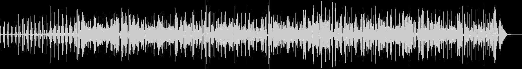 陽気で明るい生演奏アコーディオンのBGMの未再生の波形