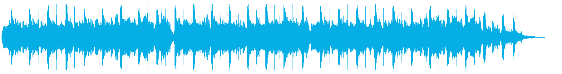 オリエンタルな子守歌の再生済みの波形