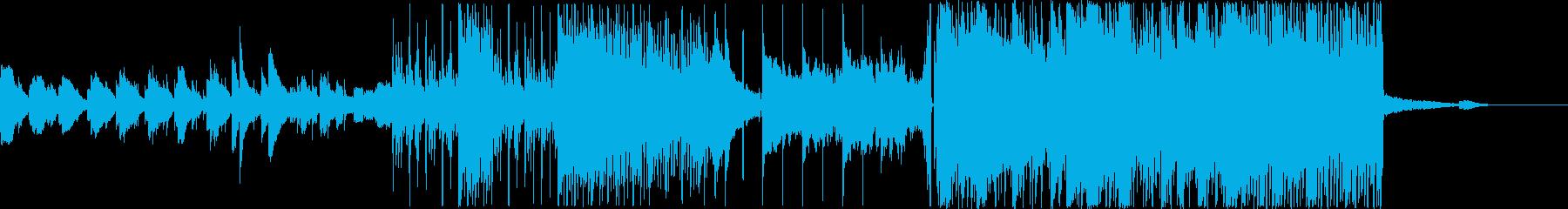 夏や海をイメージした感動系ピアノエピックの再生済みの波形