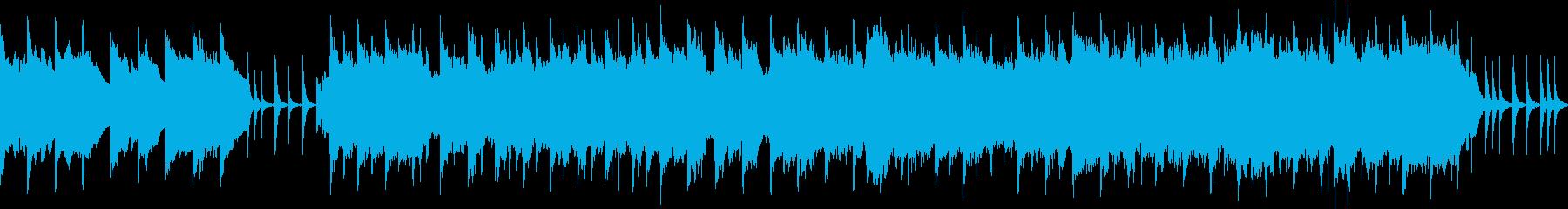 民謡風ポップ①琉球風・癒やし【ループ】の再生済みの波形