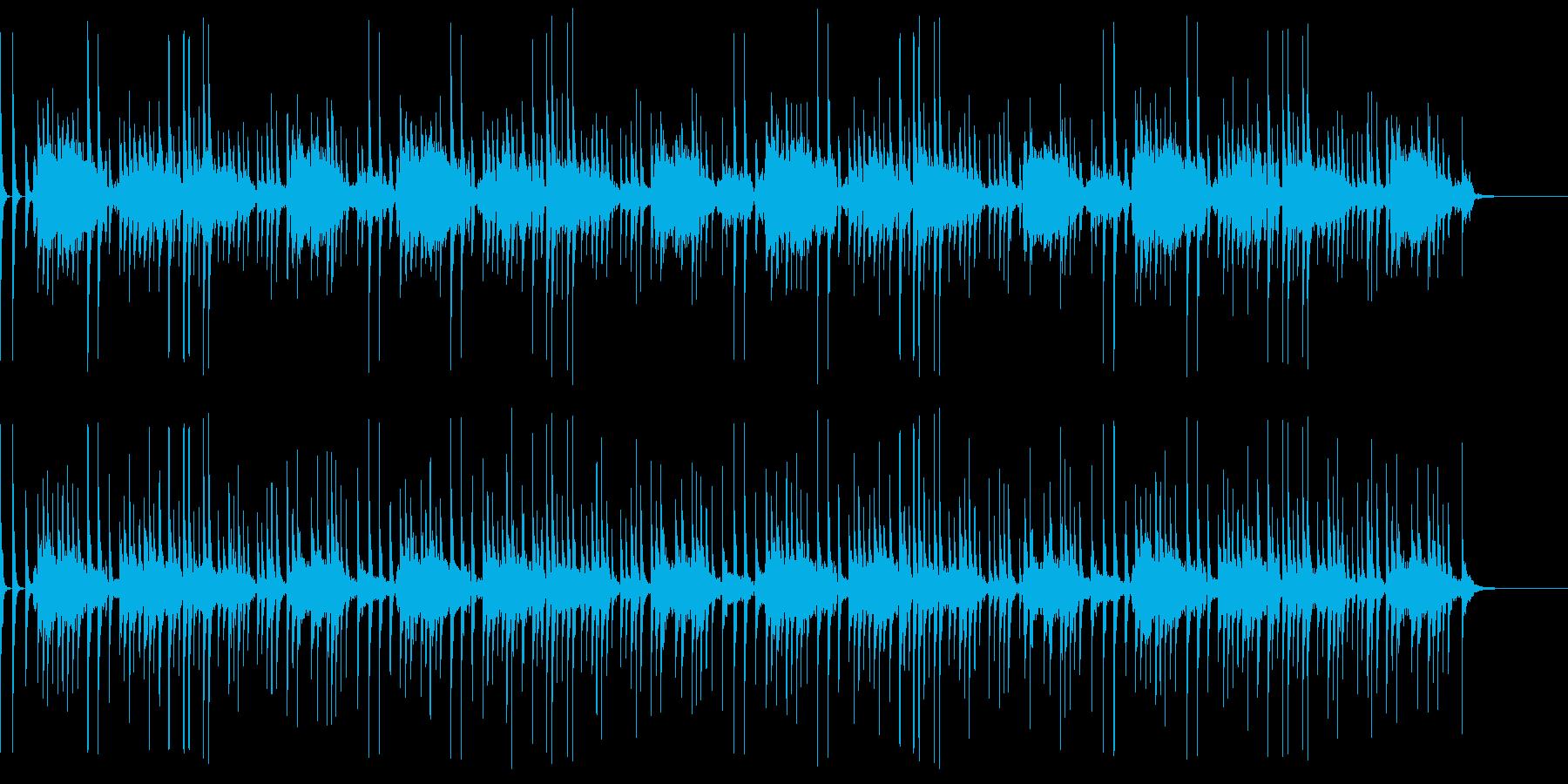 三味線・篠笛で落語の出囃子「一丁入り」の再生済みの波形