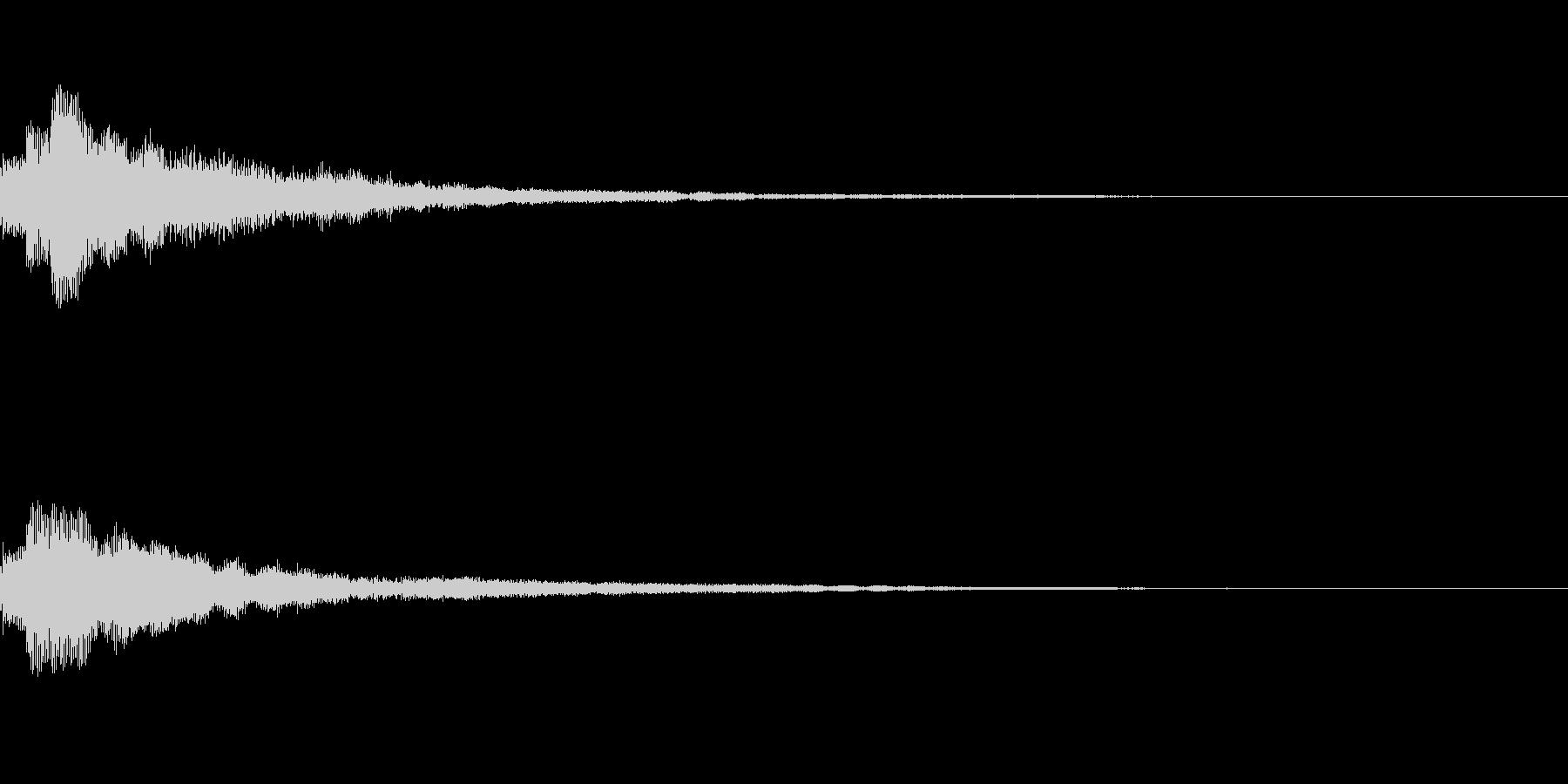 しゃらん♪ (連鎖04)の未再生の波形