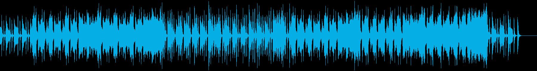 ノスタルジックで感傷的なクラシック風の再生済みの波形