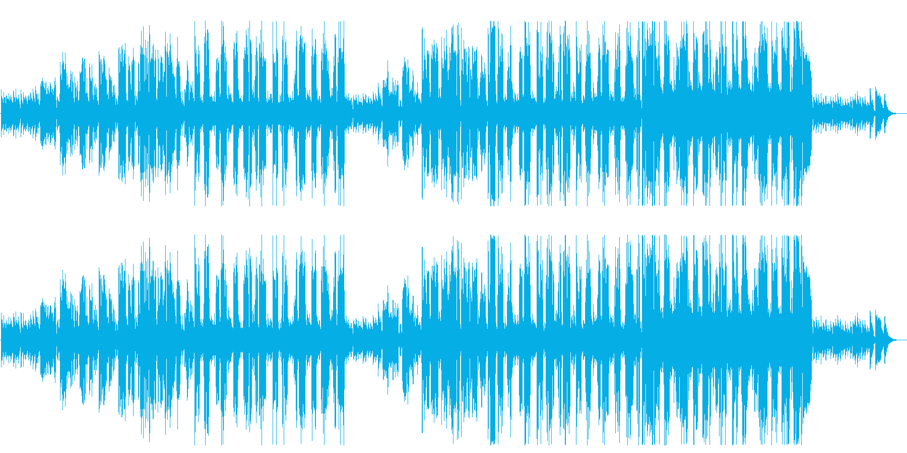 Female Vo. Playing the guitar facing life and death's reproduced waveform