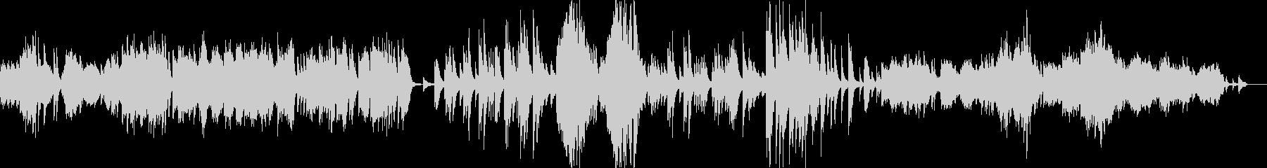 ドビュッシーの人気曲、アラベスク第一番の未再生の波形