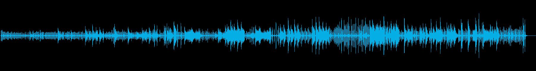 生ピアノソロ・軽快に駆け抜けるの再生済みの波形