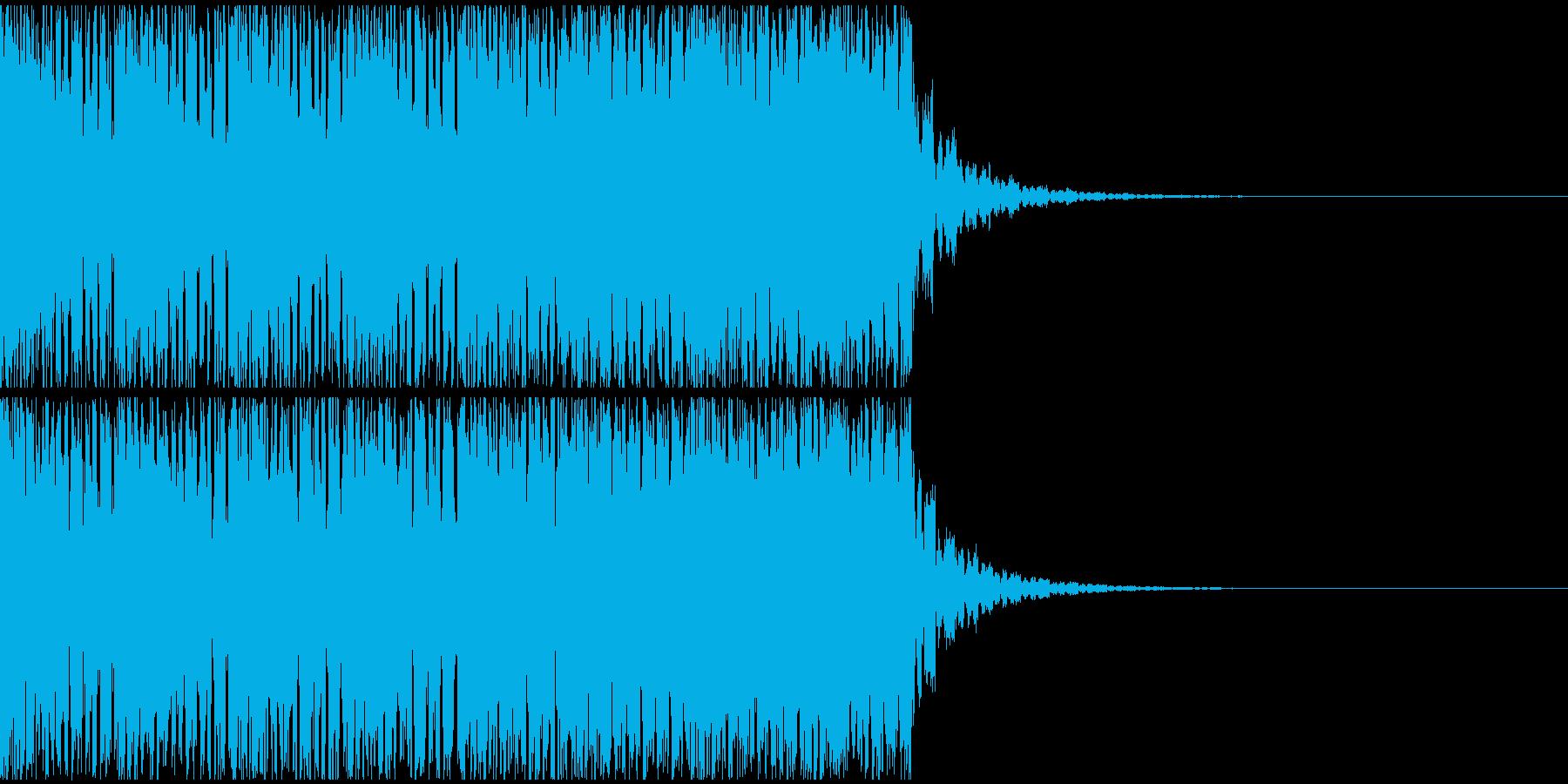 【EDM】20秒、ジングル4の再生済みの波形