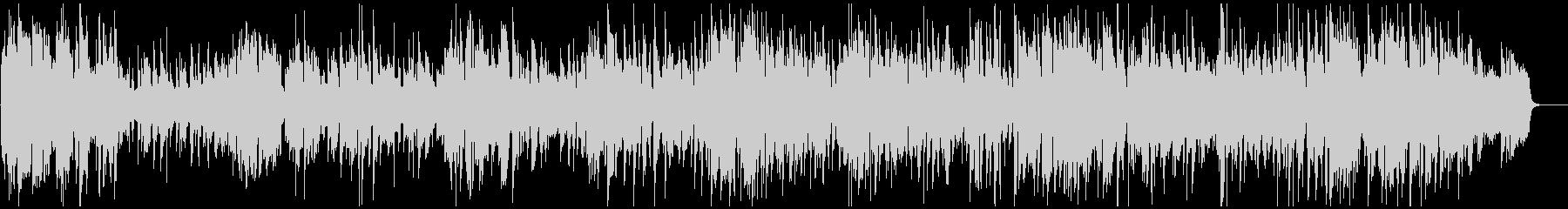 サックス、オルガン、ドラムのジャズトリオの未再生の波形