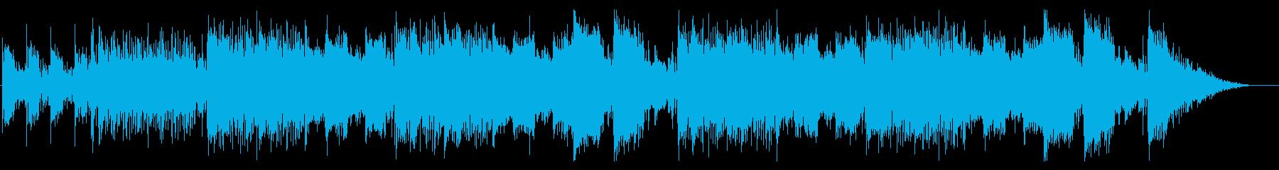 エレクトロニックでエスニックなバトル曲の再生済みの波形