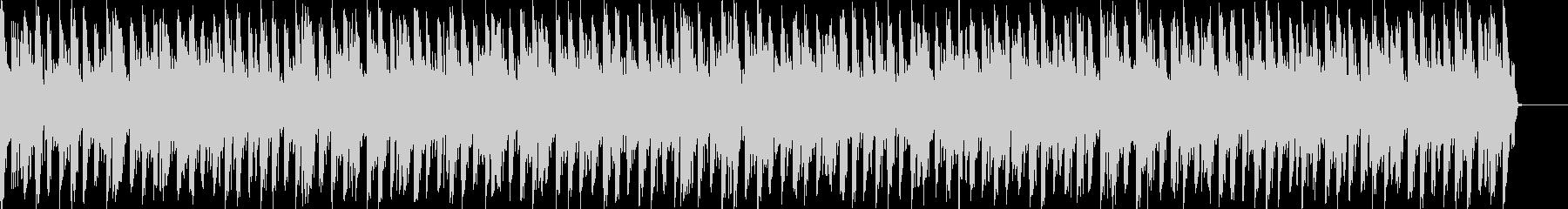 勢いのある煽りBGM  シンセ・4つ打ちの未再生の波形