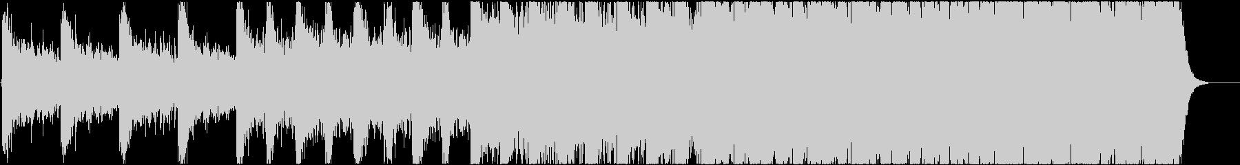 緊迫感のあるシネマティック曲 1-3の未再生の波形
