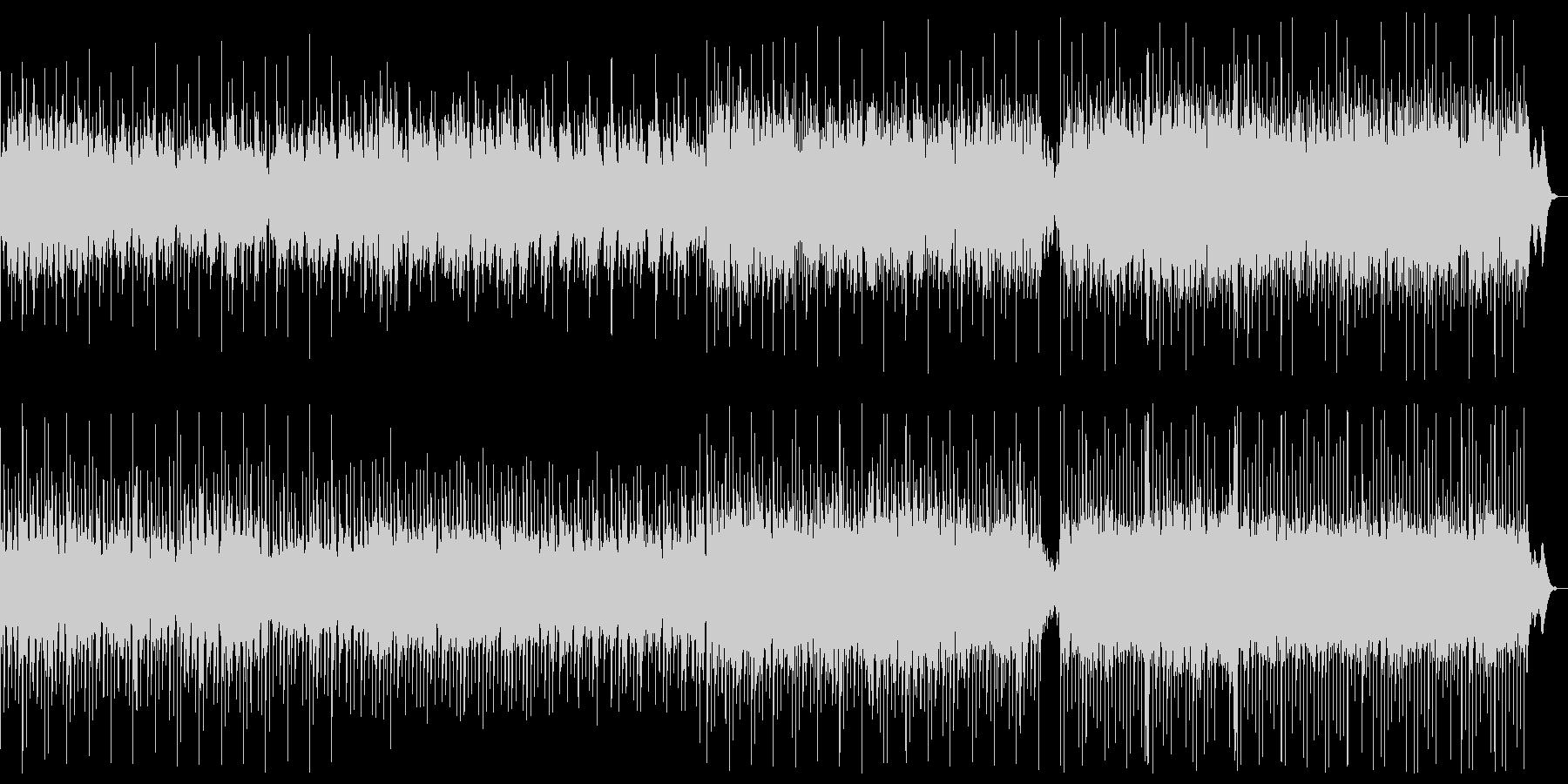 ピアノとシンセのアンビエントの未再生の波形