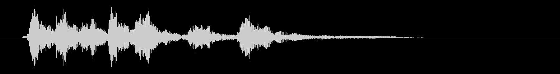 ピチカートのシンプルなジングル その2の未再生の波形