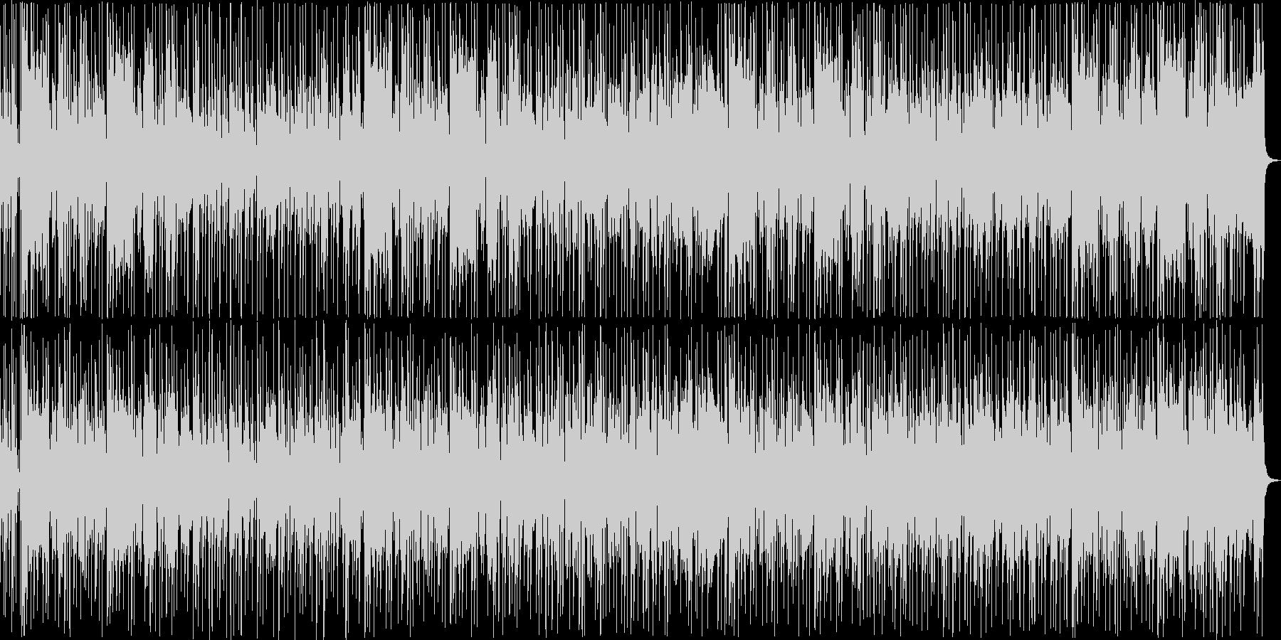 クールでおしゃれなファンクトラックの未再生の波形