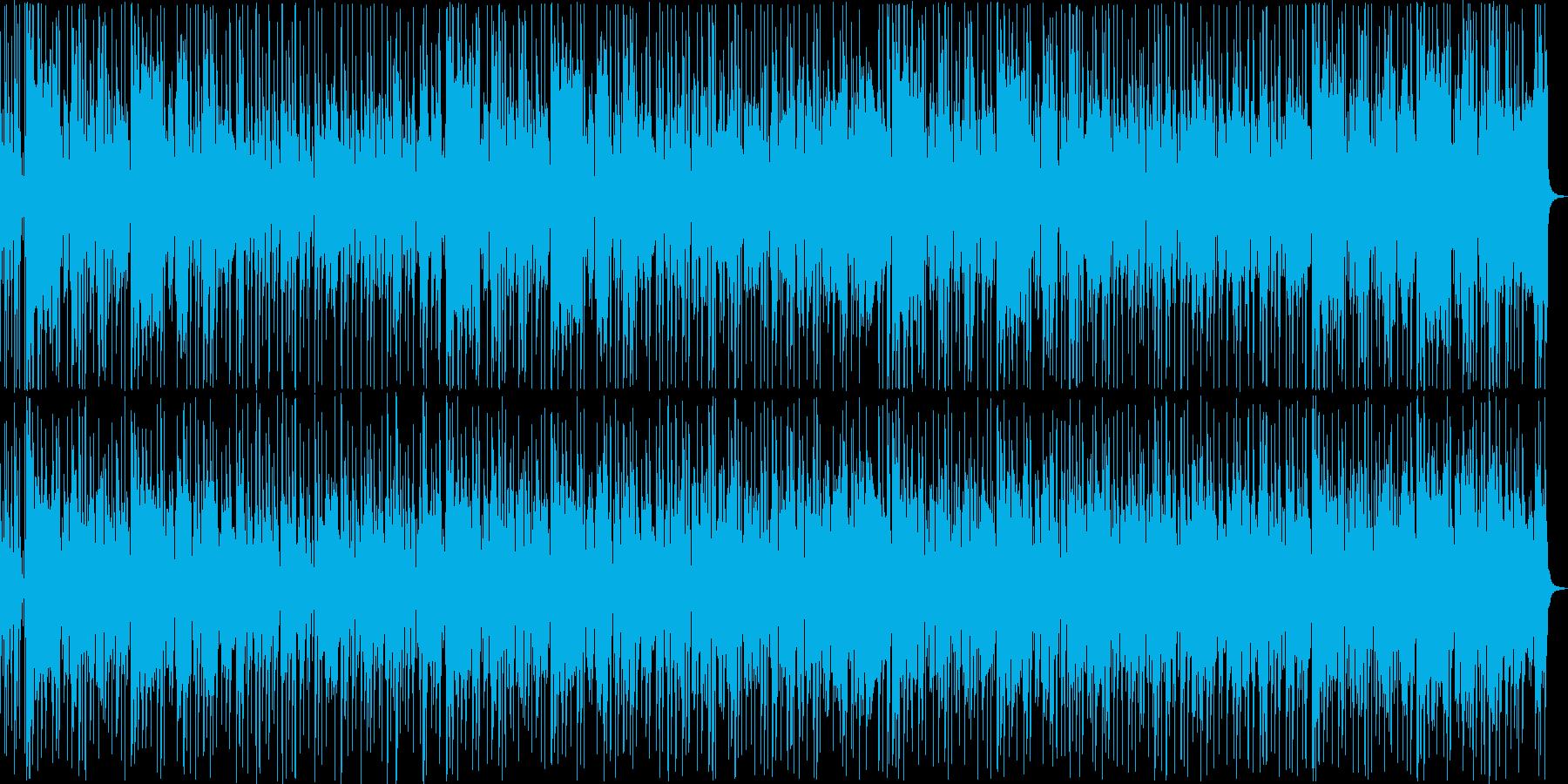 クールでおしゃれなファンクトラックの再生済みの波形