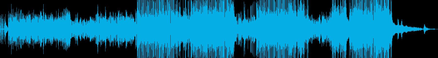 フルート・涼しい風景 後半ドラム・長尺の再生済みの波形